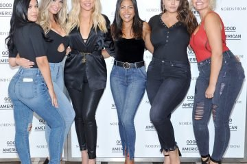 Emily Sears, Ashley Graham - Good American jeans